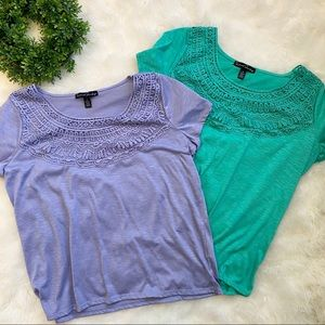 French Laundry Lace Tops